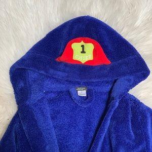 Terry cloth bath robe